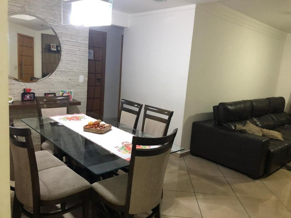 Apartamento Com 3 Dormitórios À Venda, 110 M² Por R$ 550.000 - Chácara Agrindus - Taboão Da Serra/sp - Ap0720