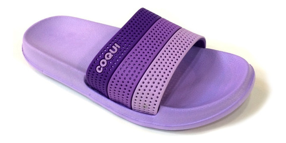 Sandalias Coqui Para Damas 100% Originales - 7056 Lt Purple