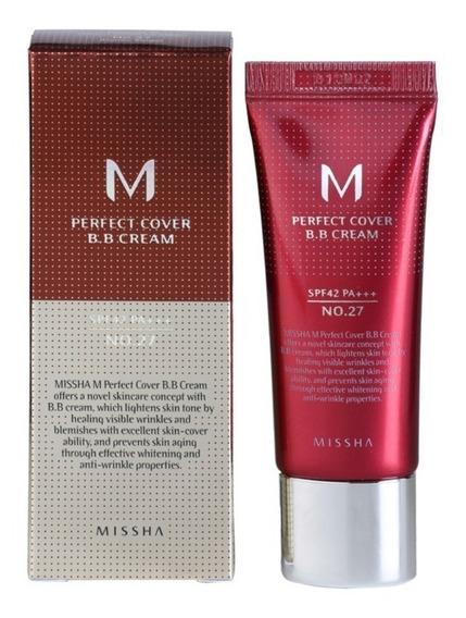 Missha M Perfect Cover Bb Cream Fps42 Nº27 Honey Beige 20ml