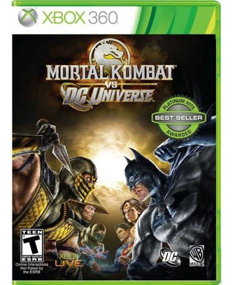 Mortal Kombat Vs Dc Universe Xbox 360 Usado
