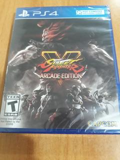 Street Fighter V 5 Arcade Edition Juego Ps4 Nuevo Y Sellado