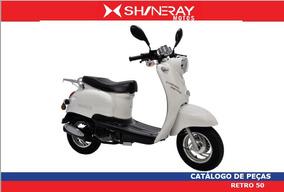 Peças Shineray Retro 50cc Cinquentinha