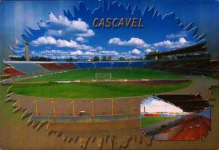Cac-47757- Postal Cascavel, P R - Estadio Olimpico Regional