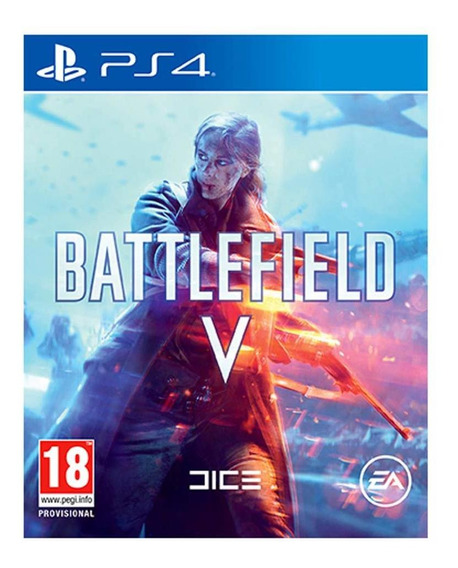 Jogo Mídia Física Battlefield V 5 Original Para Ps4