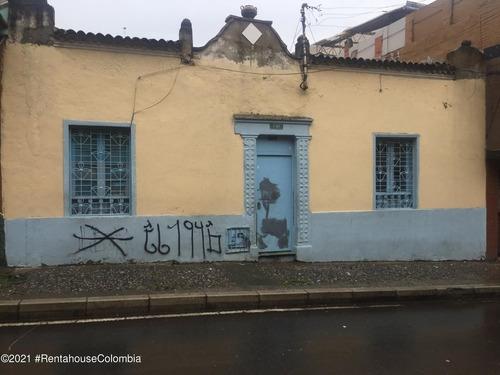 Lote En  Las Cruces(bogota) Rah Co: 22-9