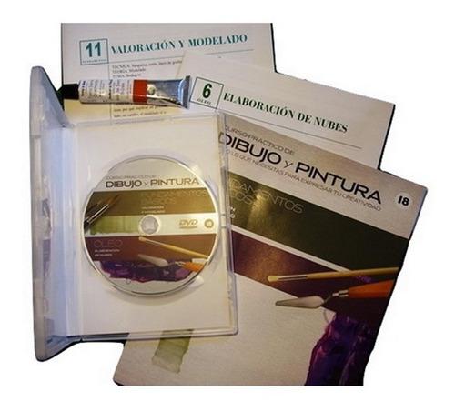 Imagen 1 de 1 de Coleccion Dibujo Y Pintura Nro.18 + Dvd + Pomo Oleo