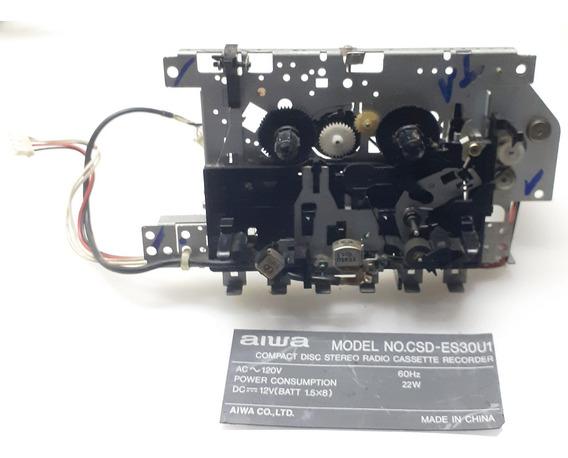 Deck Radio Cd Player Aiwa Es30u1