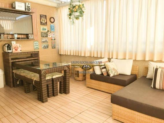 Cobertura Com 3 Dormitórios À Venda, 122 M² Por R$ 900.000,00 - Tatuapé - São Paulo/sp - Co0051