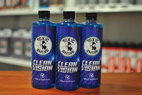 Toxic Shine Clean Vision Limpiavidrios 600cc