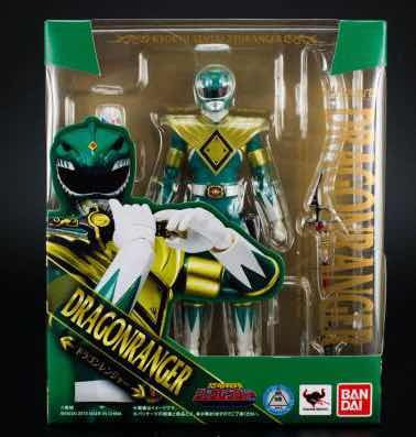 Sh Figuarts Dragon Ranger Power Rangers Verde Bandai