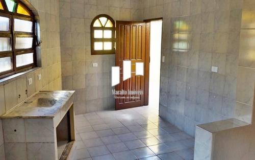 Casa 1 Quarto, Cozinha Americana, Quintal, Caiçara, Praia Grande