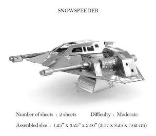 Rompecabezas 3d, Snowspeeder ( No Pegamento )