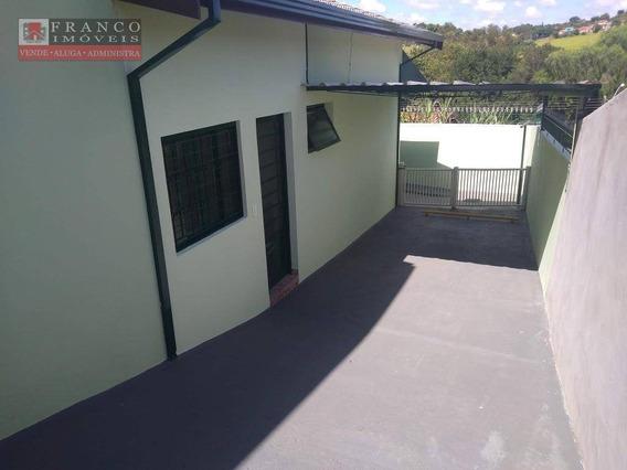 Casa Com 2 Dormitórios Para Alugar, 60 M² Por R$ 1.435,00/mês - Jardim Panorama - Valinhos/sp - Ca0507
