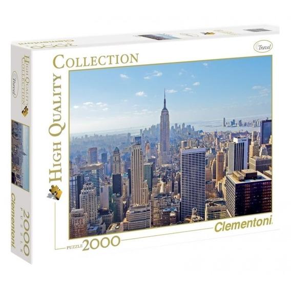 Rompecabeza Puzzle Travel New York X 2000 Piezas Clementoni
