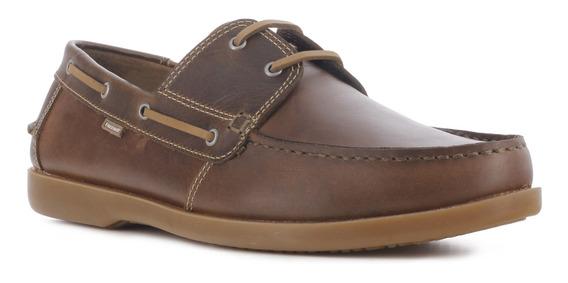 Zapato Hombre Freeway Cuero 021.0navy0067