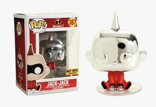 Funko Pop Jack Jack Chrome Incredibles 2 Exclusivo Hot Topic