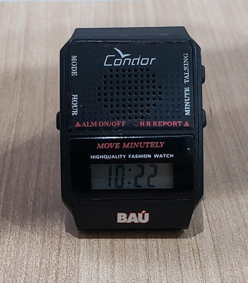 Relógio Do Baú Com Voz Do Silvio Santos Frete Grátis Em 12x!