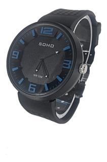 Reloj Soho Original Analógico Sumergible Hombre Ch114 A