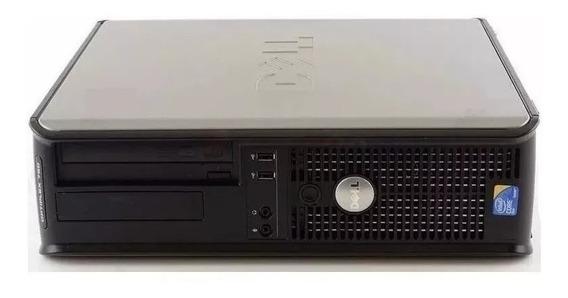 Computador De Mesa Cpu Desktop Pc Usado Barato Pc 2gb Ram 160gb Hd - 6 Meses Garantia