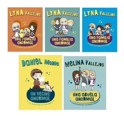 Pack Una Familia Anormal ( 5 Libros) - Lyna Vallejos Morro