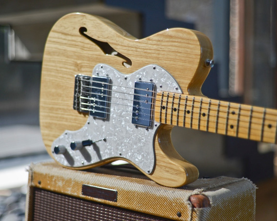 Fender Telecaster Thinline 72 American Vintage Wide Range