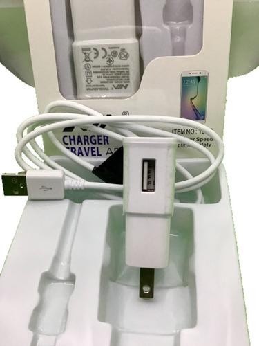 Cargador / Adaptador Usb Para Corriente 110v  Con Cable Usb