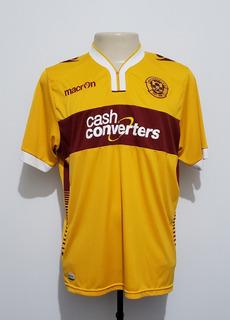 Camisa Oficial Motherwell Da Escócia 2014 Home Macron G