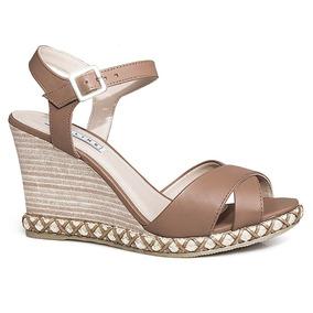036ad51b46 Sandalia Anabela Lia Line - Sapatos no Mercado Livre Brasil