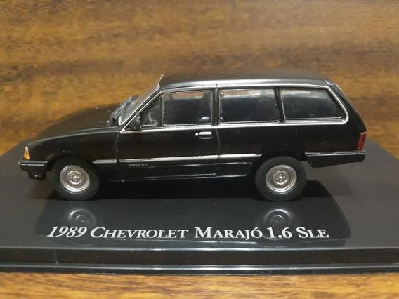 Miniatiura Chevrolet Marajó Preta 1989