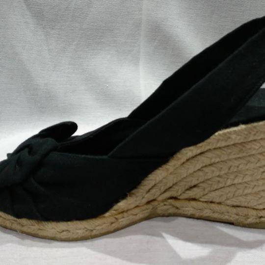 Zapatos De Mujer Negros Ojo De Pez Taco Chino