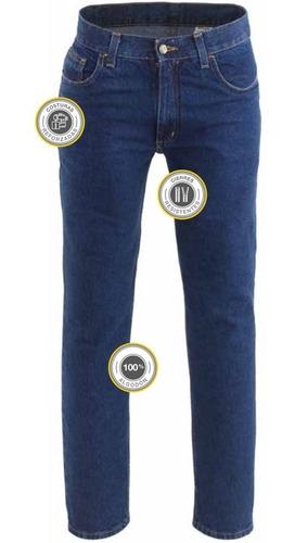 Pantalón De Trabajo Pampero Jean Ranger 13oz Azul 38al50