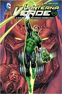 Hq Lanterna Verde A Ira Dos Lanternas Vermelhos / Agente Lar