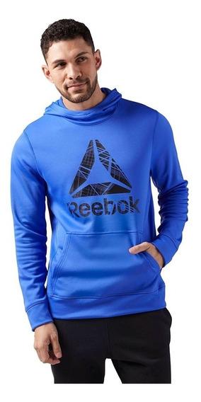 Sudadera Reebok Hombre Azul Ce3875