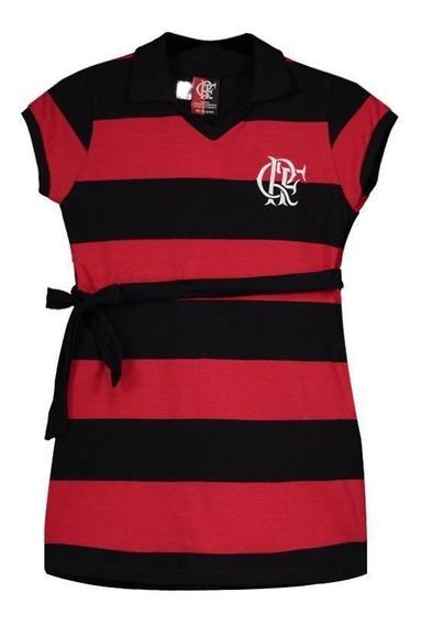 Vestido Flamengo Milly Infantil