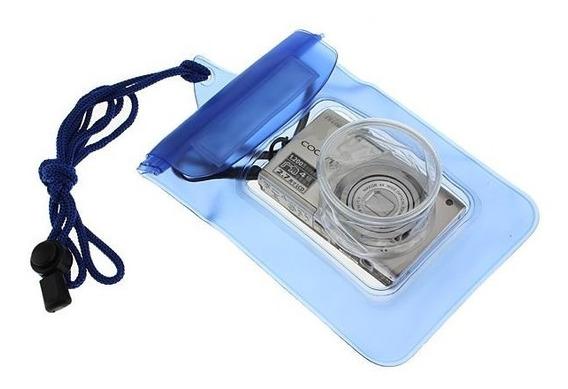 Case Bag Estanque Impermeável Mergulho P/ Câmeras Digitais Compactas Sony Nikon Fuji Kodak Canon Samsung Olympus Gps