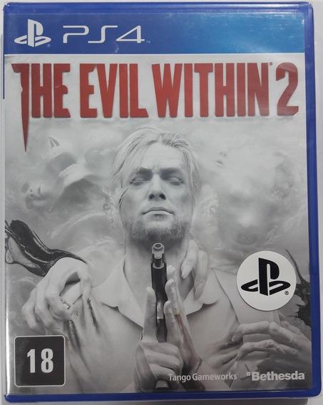 The Evil Within 2 Ps4 Novo Lacrado Mídia Física.