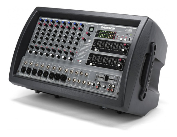 Samson Xm910 - Powered Mixer - Mesa De Som