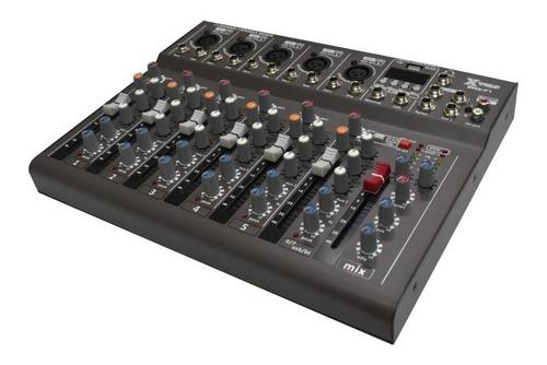 Consola 7 Canales Ax Pro Con Usb/bt/efectos Nuevos De Oferta