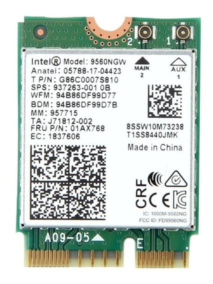 Wireless Dual Band Ac Bluetooth 5.0 Intel 9560 Ngw Ngff M.2