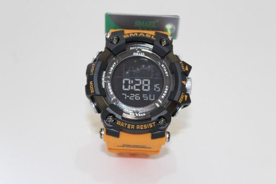 Relógio Militar Smael 1802 Esporte Masculino