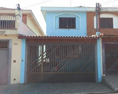 Sobrado Residencial À Venda, Campestre, Santo André. - So20949