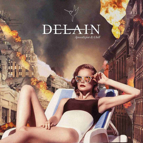 Delain Apocalypse & Chill Bonus Tracks Usa Import Cd Nuevo