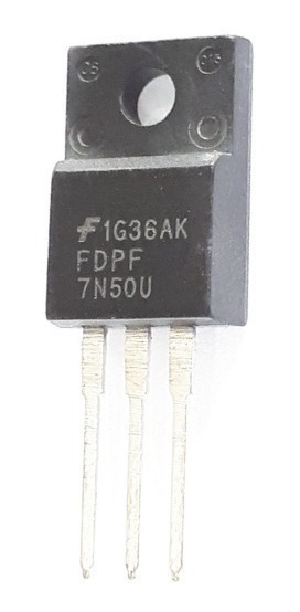 Transistor Fdpf7n50u Fdpf 7n50u Frete 8,00 Novo E Original