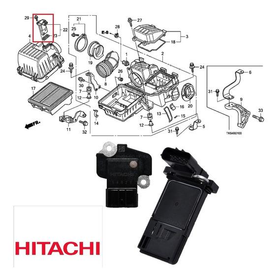 Sensor Fluxo Ar Maf Honda Civic 1.3l, 1.5, 1.8 2006 A 2015