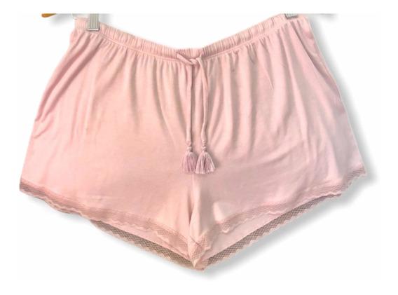 Shorts Color Lila Rosado De Mujer -a 1