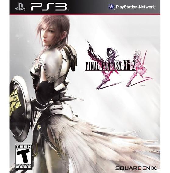 Jogo Novo Final Fantasy Xiii 2 Para Ps3 Playstation 3