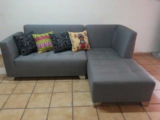 Sala Esquinera Modular Mueble Tapizado De Calidad