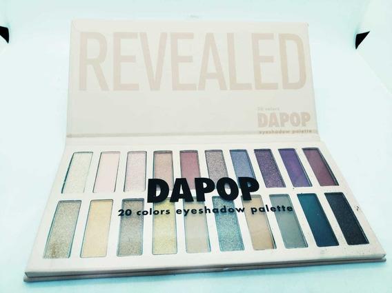 Paletas De Sombras Revealed Dapop X 20 Colores .