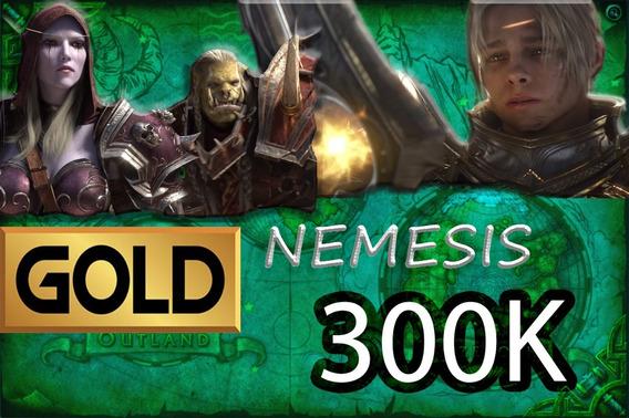 Gold Wow - 300k Nemesis