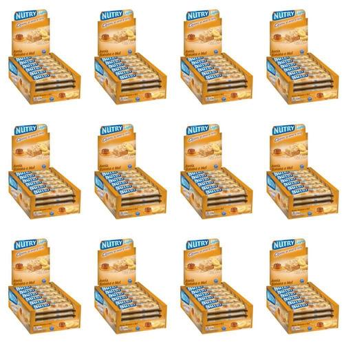 Nutry Barra De Cereal Banana Aveia E Mel C/24 (kit C/12)